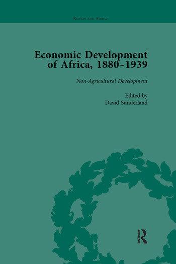 Economic Development of Africa, 1880–1939 vol 4 book cover