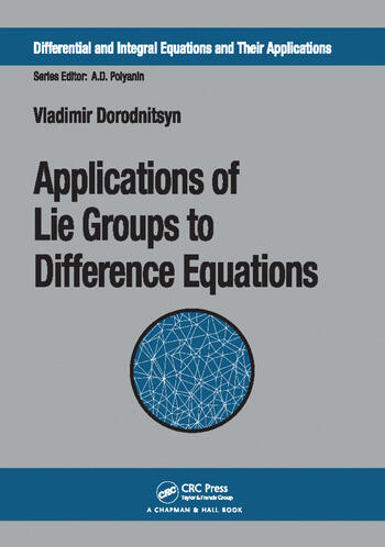 Applications of Lie Groups to Difference Equations book cover