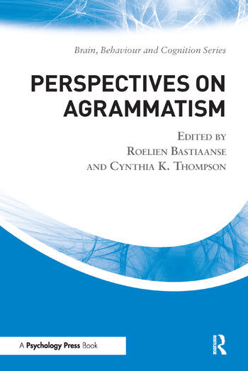 Perspectives on Agrammatism book cover