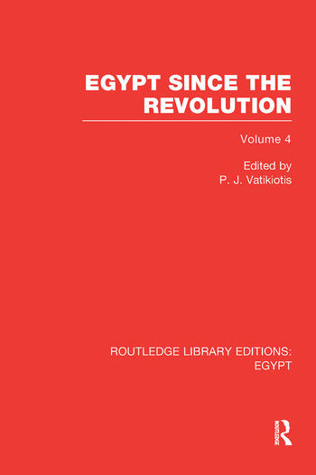 Egypt Since the Revolution (RLE Egypt) book cover