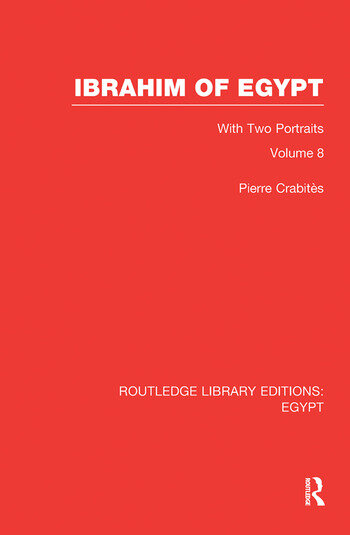 Ibrahim of Egypt (RLE Egypt) book cover