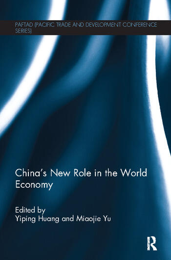 China's New Role in the World Economy book cover