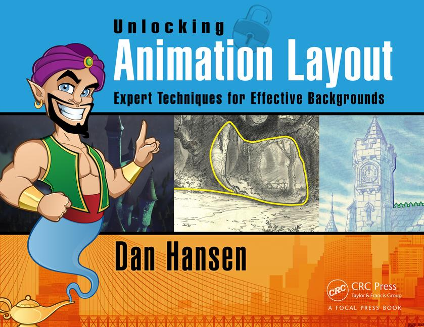 Unlocking Animation Layout Expert Techniques for Effective Backgrounds book cover