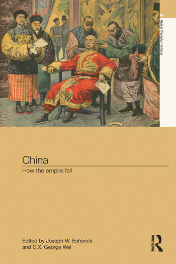 China How the Empire Fell book cover