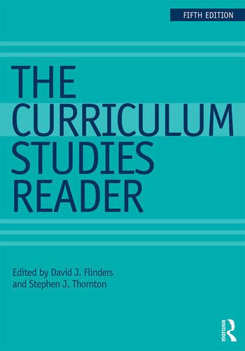 The Curriculum Studies Reader book cover