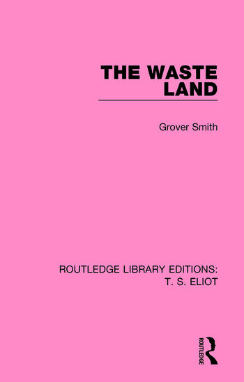 The Waste Land book cover
