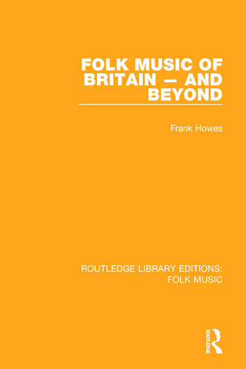 Folk Music of Britain - and Beyond book cover