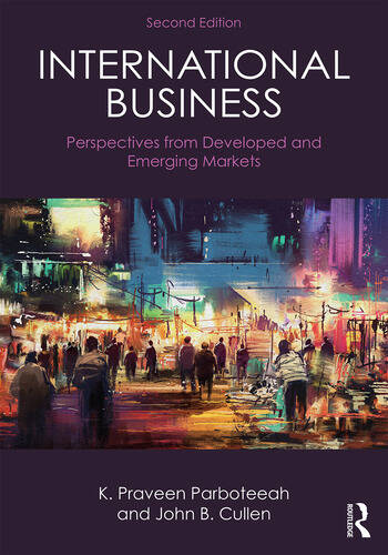 International Business Perspectives from developed and emerging markets book cover