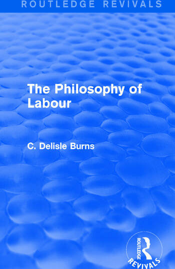 The Philosophy of Labour book cover