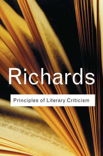 Principles of Literary Criticism book cover