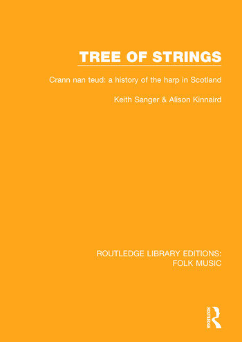Tree of strings Crann nan teud: a history of the harp in Scotland book cover