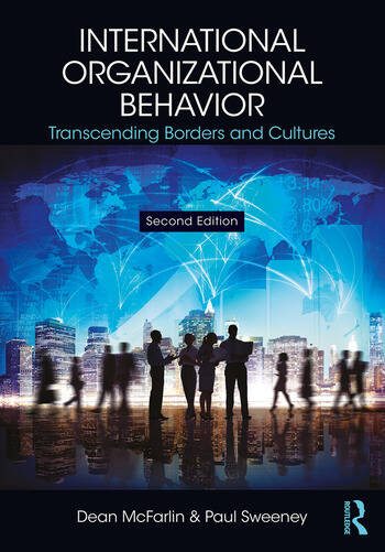 International Organizational Behavior Transcending Borders and Cultures book cover