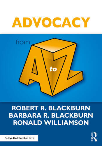 Advocacy from A to Z book cover