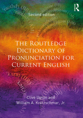 The Routledge Dictionary of Pronunciation for Current English book cover