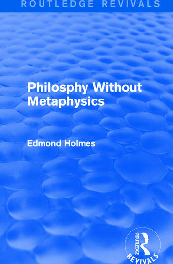 Philosphy Without Metaphysics book cover
