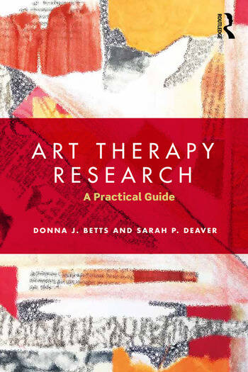 Art Therapy Research A Practical Guide book cover
