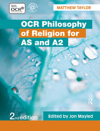 OCR Philosophy of Religion for AS and A2 book cover