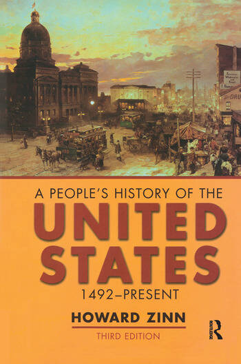 A People's History of the United States 1492-Present book cover