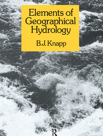 Elements of Geographical Hydrology book cover