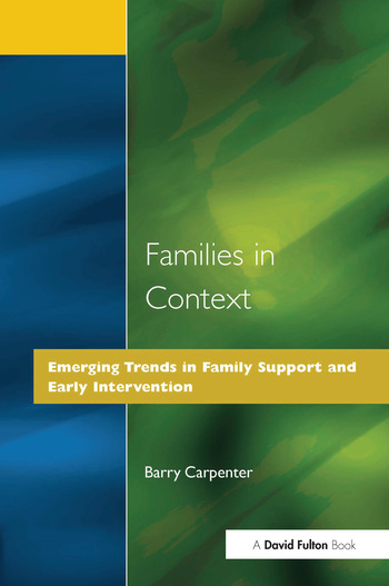 Families in Context book cover
