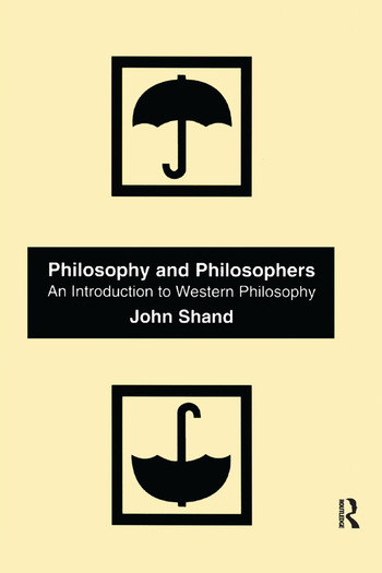 Philosophy and Philosophers An Introduction to Western Philosophy book cover