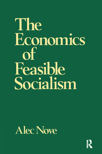 The Economics of Feasible Socialism book cover