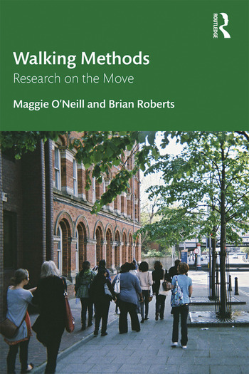 Walking Methods Research on the Move book cover