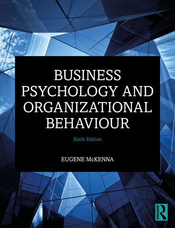 Business Psychology and Organizational Behaviour book cover