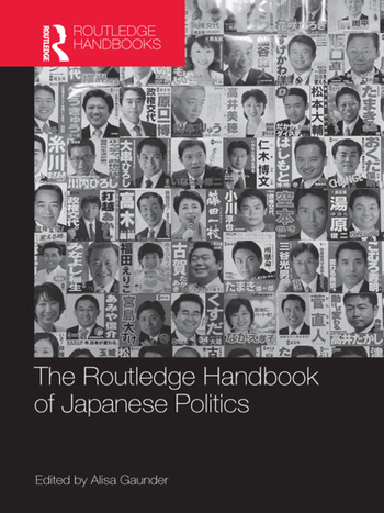 The Routledge Handbook of Japanese Politics book cover