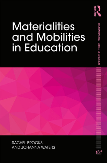 Materialities and mobilities in education hardback routledge fandeluxe Images