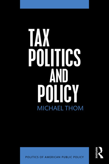 Tax Politics and Policy book cover
