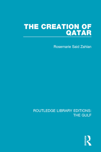 The Creation of Qatar book cover