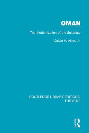 Oman: the Modernization of the Sultanate book cover