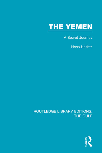 The Yemen A Secret Journey book cover