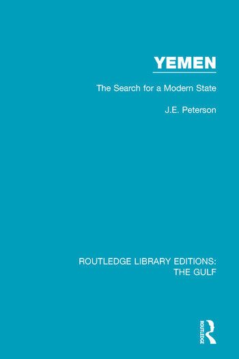 Yemen: the Search for a Modern State book cover