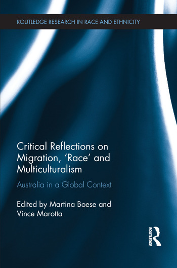 Critical Reflections on Migration, 'Race' and Multiculturalism Australia in a Global Context book cover
