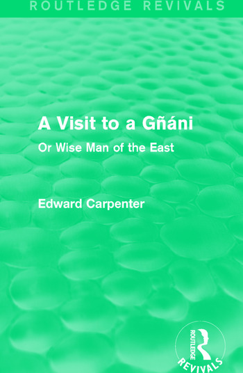 A Visit to a Gñáni Or Wise Man of the East book cover