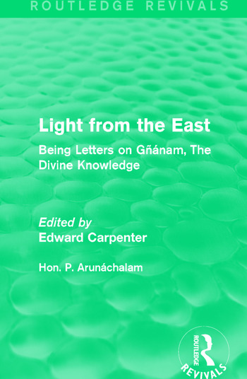 Light from the East Being Letters on Gñanam, The Divine Knowledge book cover