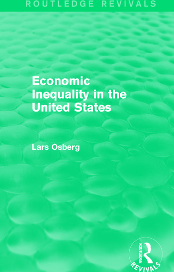 Economic Inequality in the United States book cover