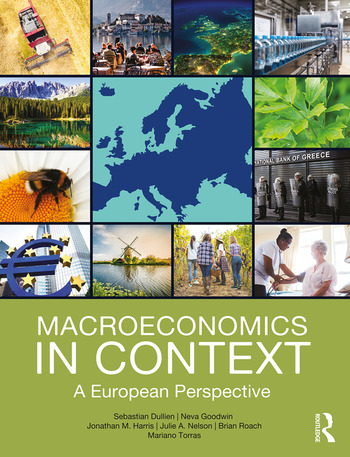 Macroeconomics in Context A European Perspective book cover