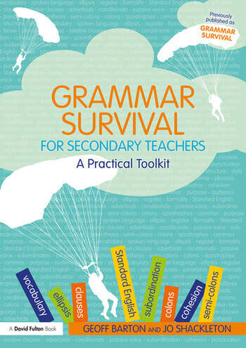 Grammar Survival for Secondary Teachers A Practical Toolkit book cover