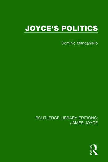 Joyce's Politics book cover