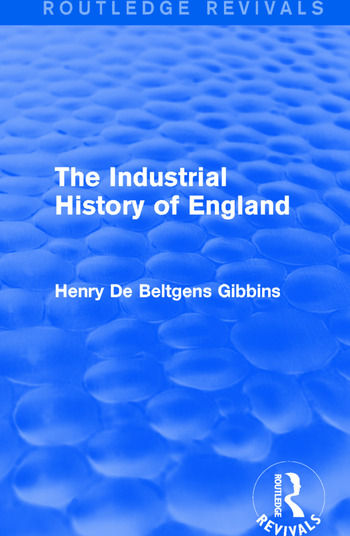 The Industrial History of England book cover