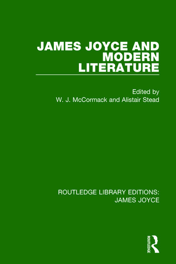 James Joyce and Modern Literature book cover