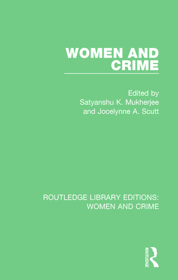 Women and Crime book cover