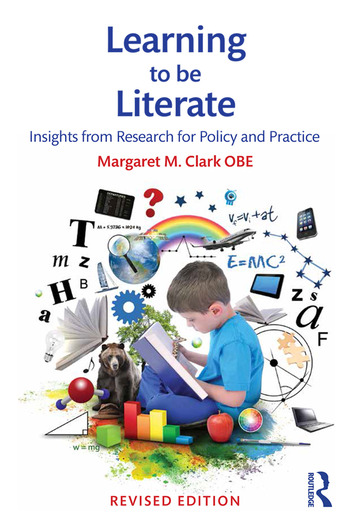 Learning to be Literate Insights from research for policy and practice book cover