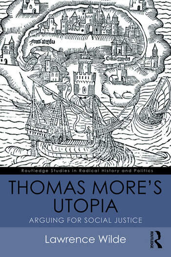 Thomas More's Utopia Arguing for Social Justice book cover
