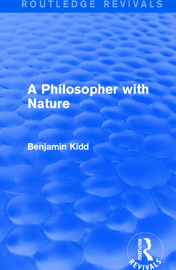 A Philosopher with Nature book cover
