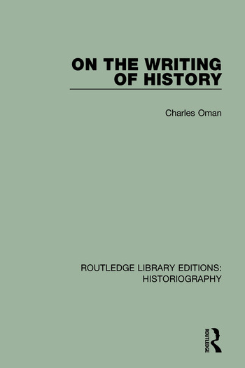 On the Writing of History book cover