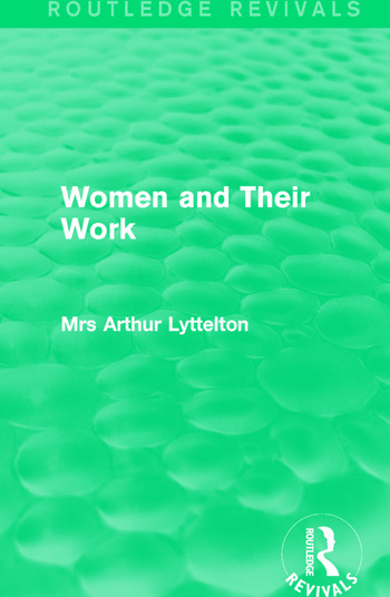Women and Their Work book cover